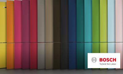 Bosch Kühlschrank Laut : Bosch vario style farbige fronten für ihren kühlschrank