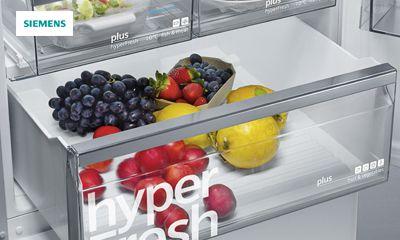 Siemens Kühlschrank Hydrofresh Box : Siemens bietet lebensmittellagerung mit kühl und gefriergeräten